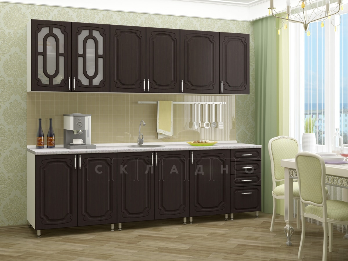 Кухонный гарнитур Жасмин 2,5 м фото 3 | интернет-магазин Складно