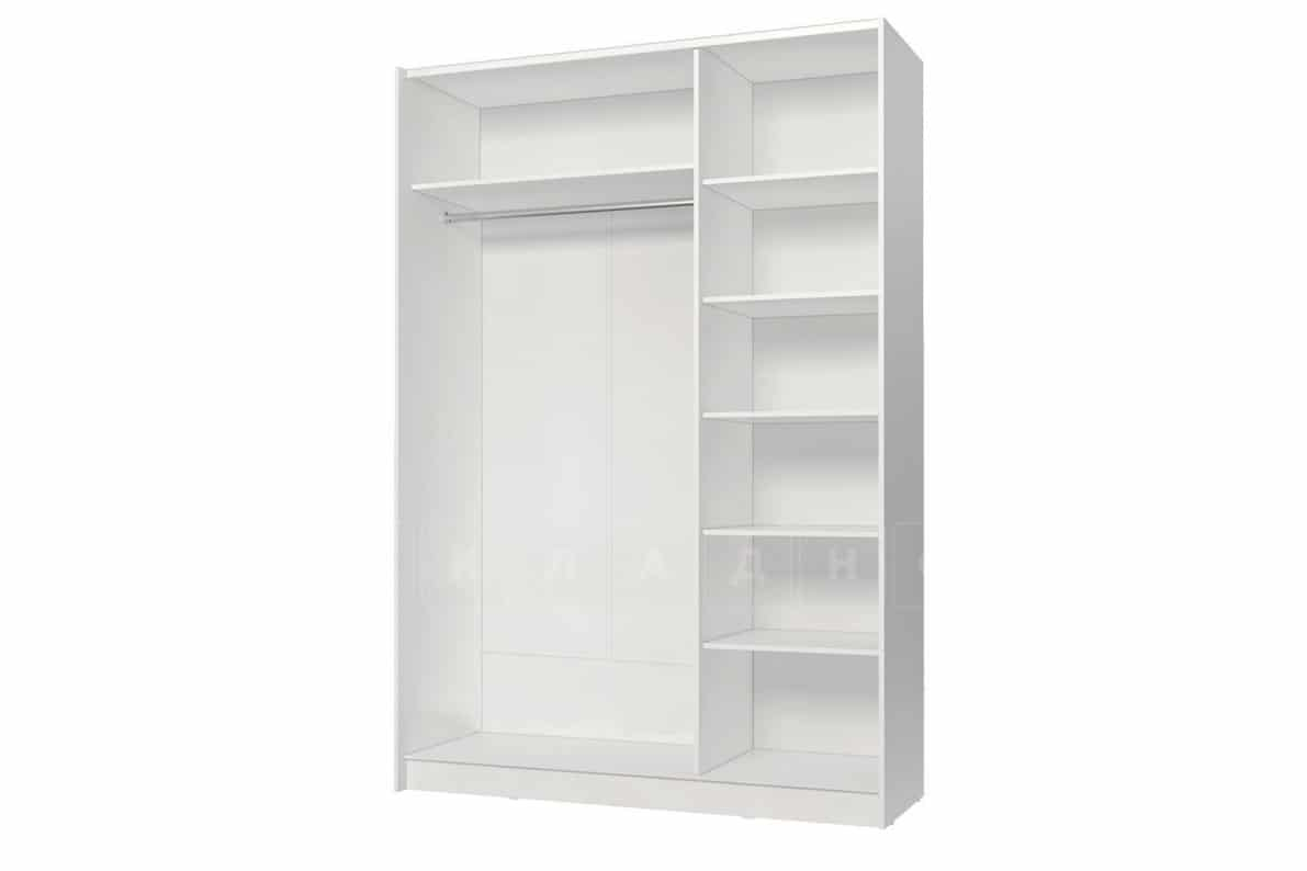 Шкаф-купе Марвин белый глянец фото 2 | интернет-магазин Складно