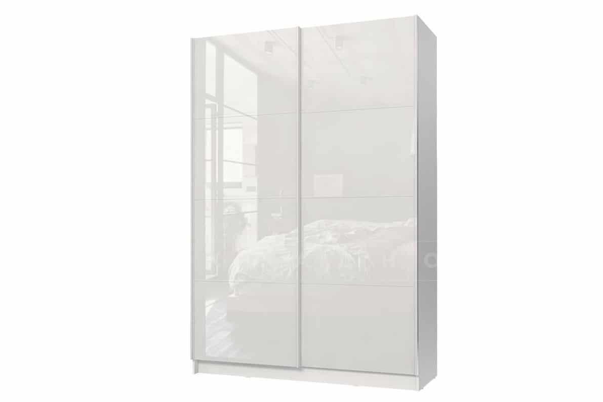 Шкаф-купе Марвин белый глянец фото 1 | интернет-магазин Складно