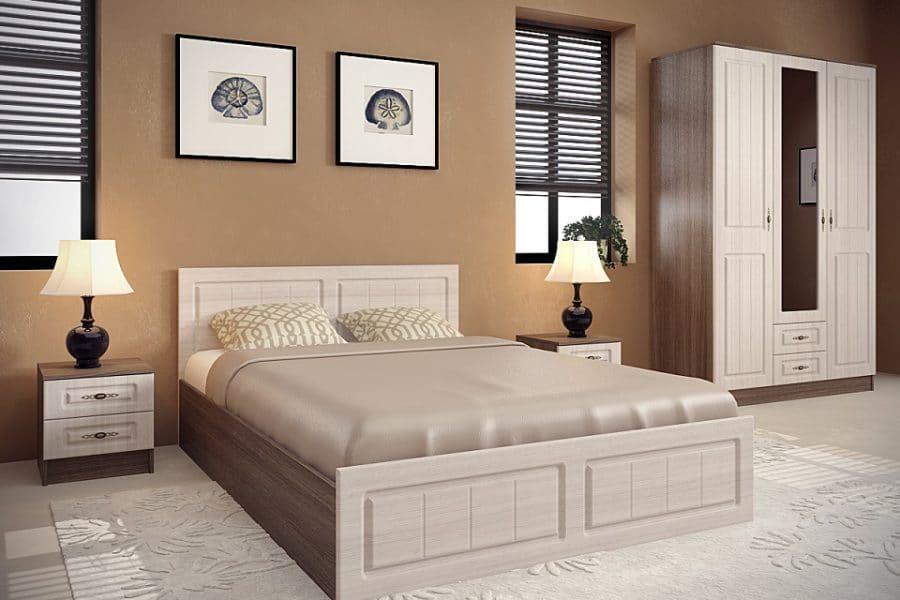 Спальный гарнитур Нимфа вариант 7 фото | интернет-магазин Складно