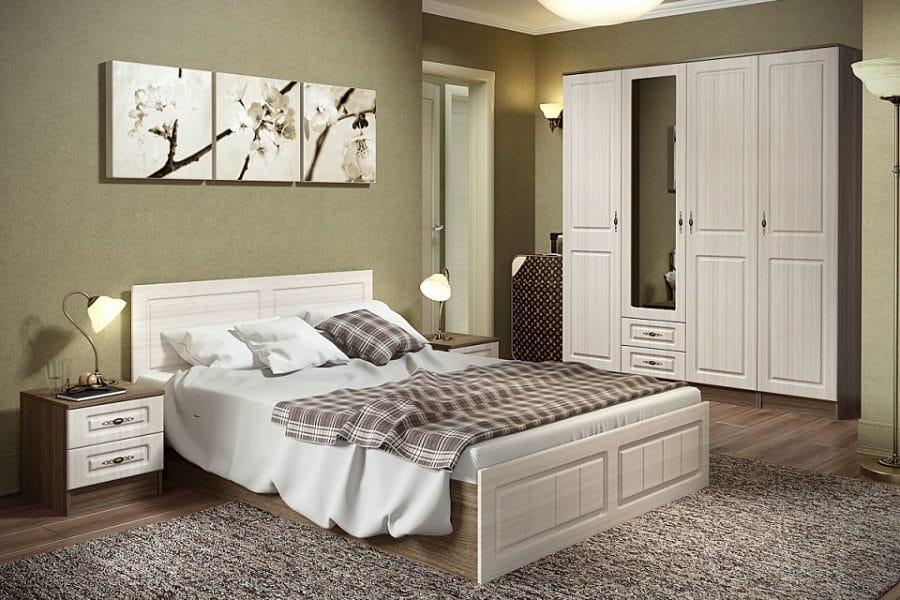 Спальный гарнитур Нимфа вариант 9 фото | интернет-магазин Складно