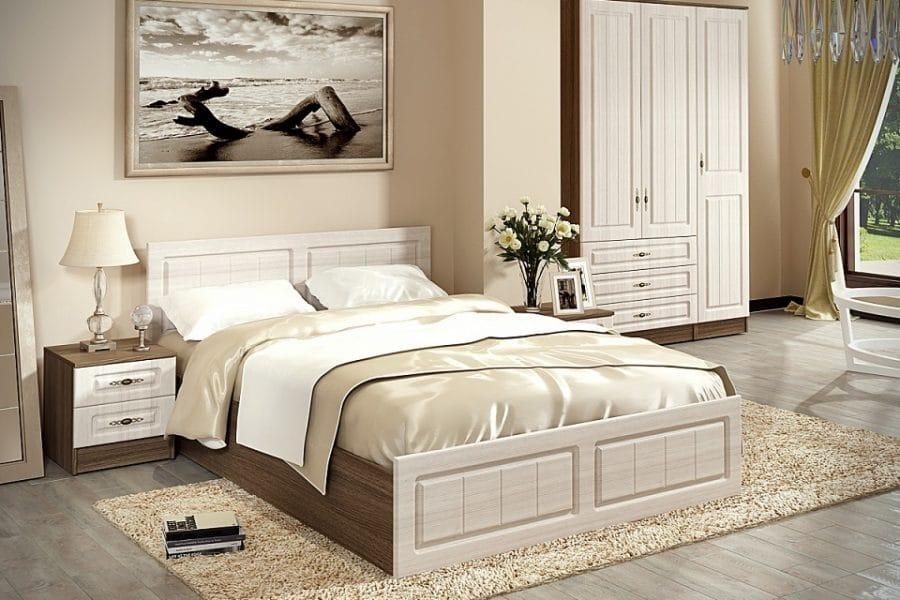 Спальный гарнитур Нимфа вариант 4 фото | интернет-магазин Складно
