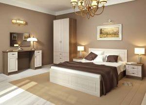 Спальный гарнитур Нимфа вариант 3 фото | интернет-магазин Складно