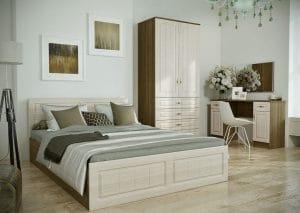 Спальный гарнитур Нимфа вариант 2 фото | интернет-магазин Складно
