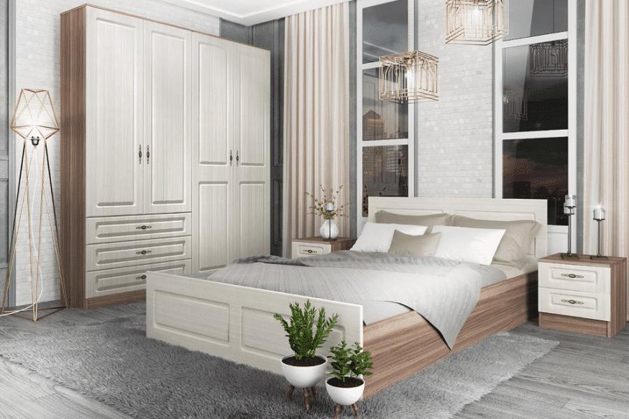 Спальный гарнитур Нимфа вариант 5 фото | интернет-магазин Складно