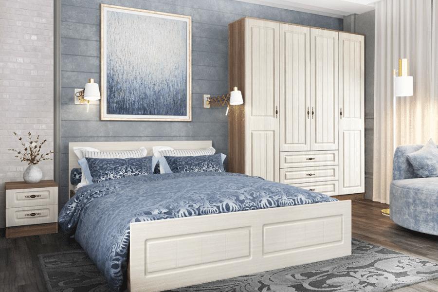Спальный гарнитур Нимфа вариант 6 фото | интернет-магазин Складно