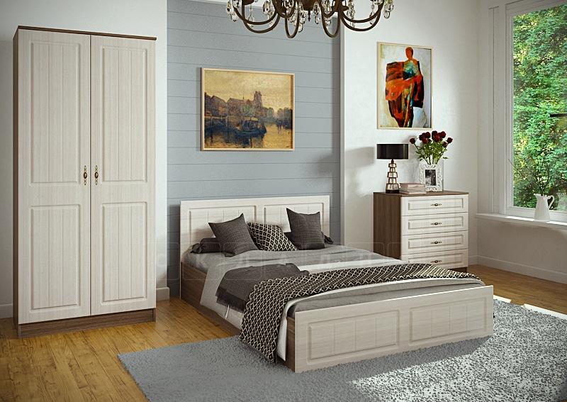 Спальный гарнитур Нимфа вариант 1 фото | интернет-магазин Складно