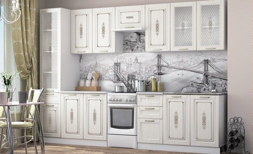Кухонный напольный шкаф-пенал Гинза ШП2Я60 с 2 ящиками фото 2 | интернет-магазин Складно