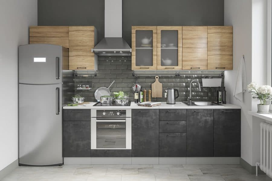 Кухонный гарнитур Шале 320 см фото | интернет-магазин Складно