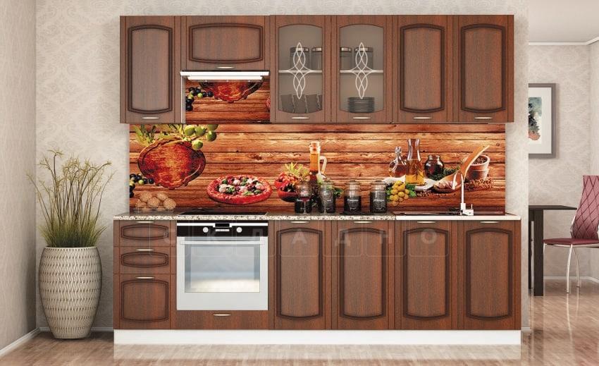Кухонный гарнитур Кариба 2,6 м итальянский орех фото | интернет-магазин Складно