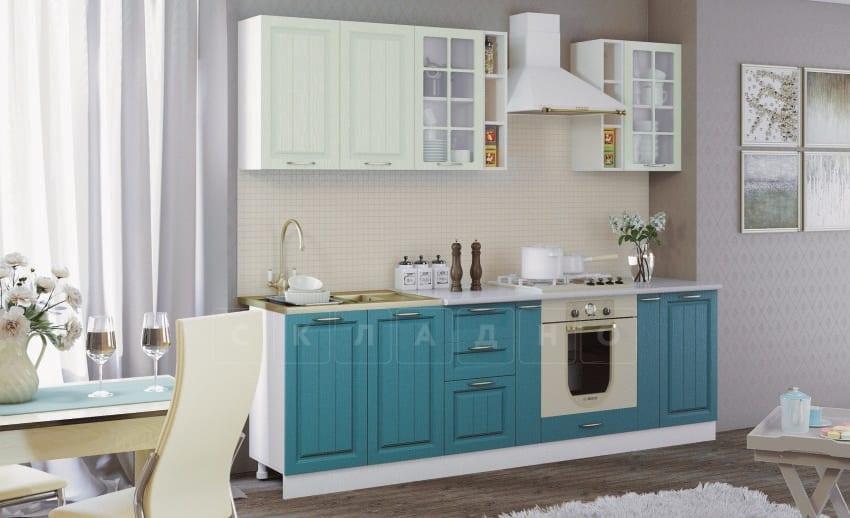 Кухонный гарнитур Модена 2,5 м вариант 2 фото 1 | интернет-магазин Складно