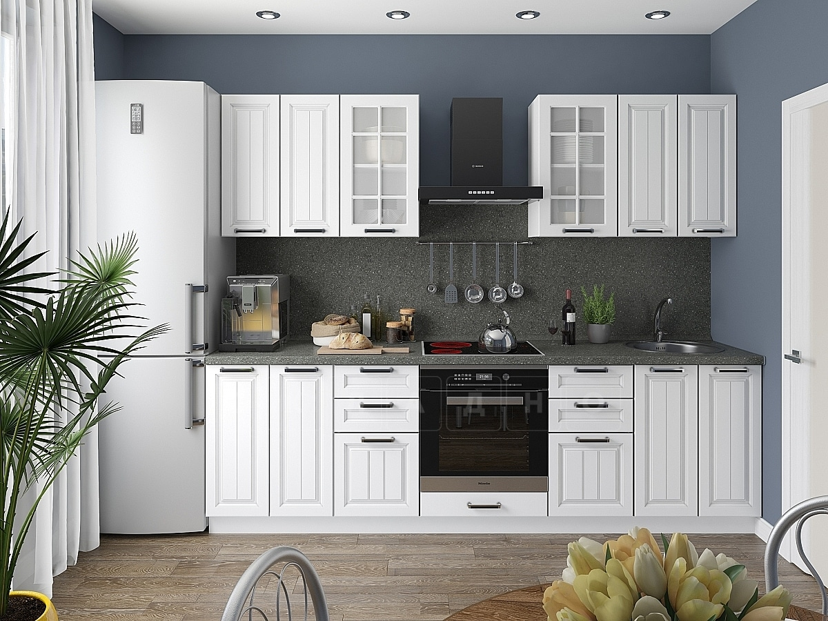Кухонный гарнитур Модена 2,6 м фото 1 | интернет-магазин Складно