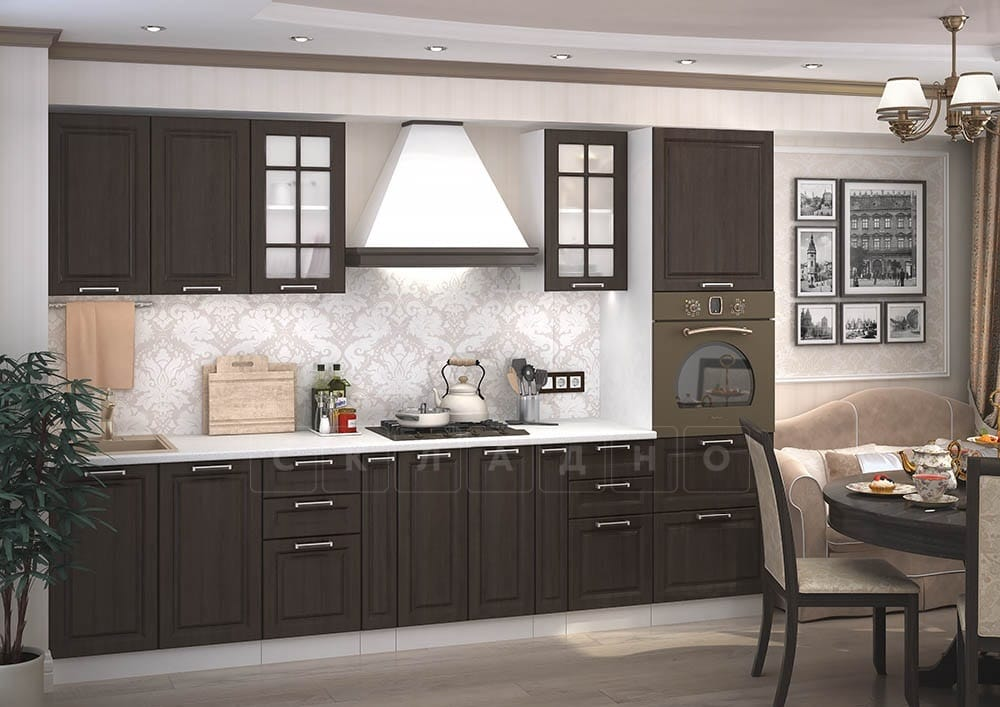 Кухонный гарнитур Модена 3,1 м фото 1 | интернет-магазин Складно