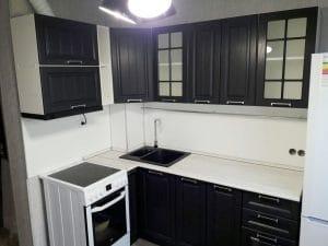 Кухня угловая Модена 2,8х1,4 м фото | интернет-магазин Складно