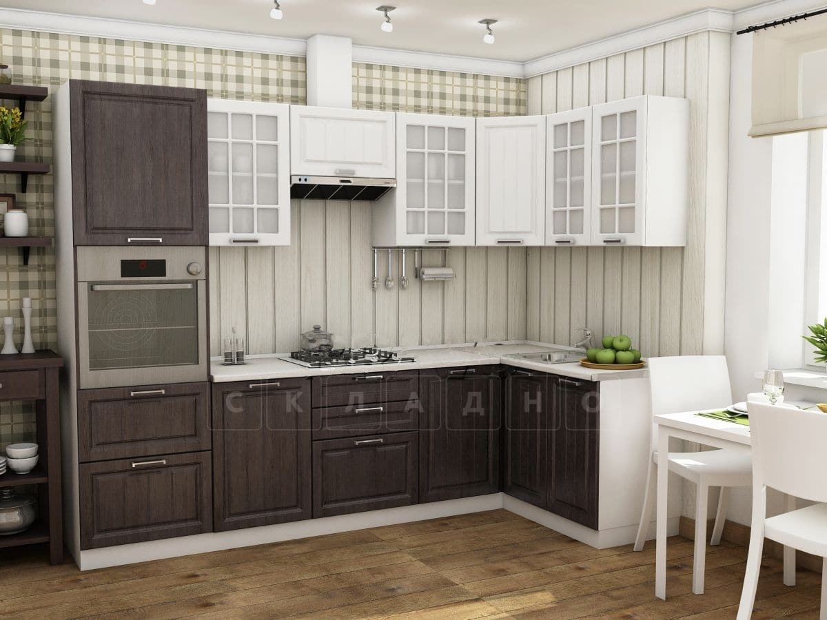 Кухня угловая Модена 2,8х1,4 м фото 1 | интернет-магазин Складно