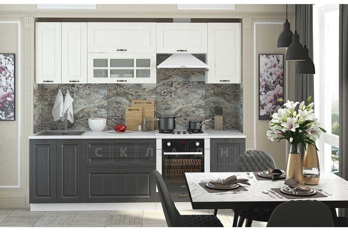 Кухонный гарнитур Модена 2,4 м фото 1 | интернет-магазин Складно