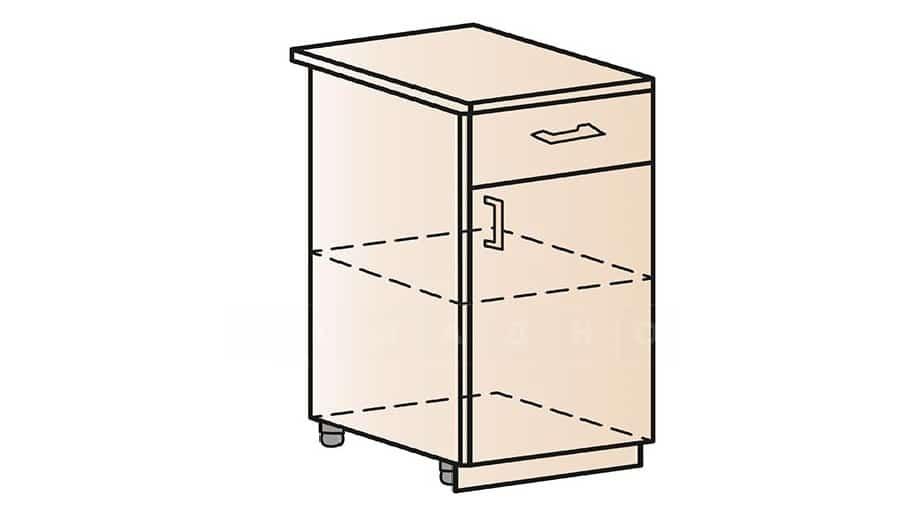 Кухонный шкаф напольный Модена ШН1Я50 с ящиком фото 1 | интернет-магазин Складно