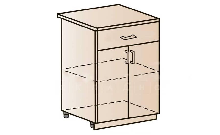 Кухонный шкаф напольный Модена ШН1Я60 с ящиком фото 1 | интернет-магазин Складно