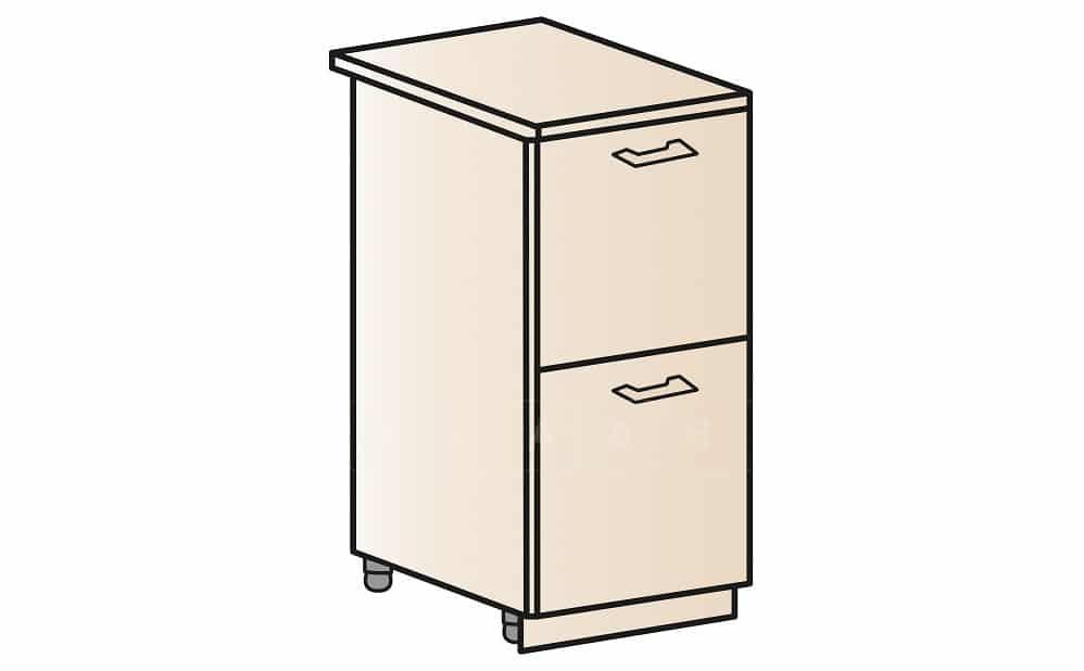 Кухонный шкаф напольный Модена ШН2Я30 с 2 ящиками фото 1 | интернет-магазин Складно