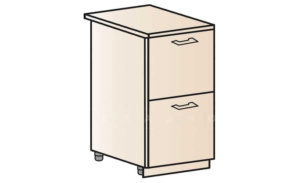 Кухонный шкаф напольный Модена ШН2Я40 с 2 ящиками фото 1 | интернет-магазин Складно