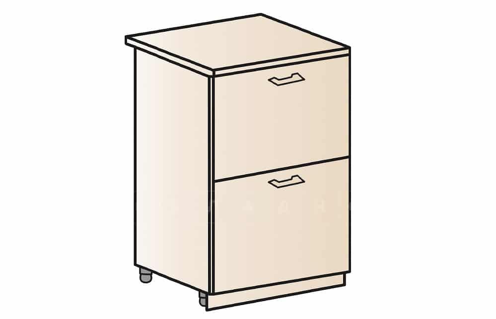 Кухонный шкаф напольный Модена ШН2Я50 с 2 ящиками фото 1 | интернет-магазин Складно