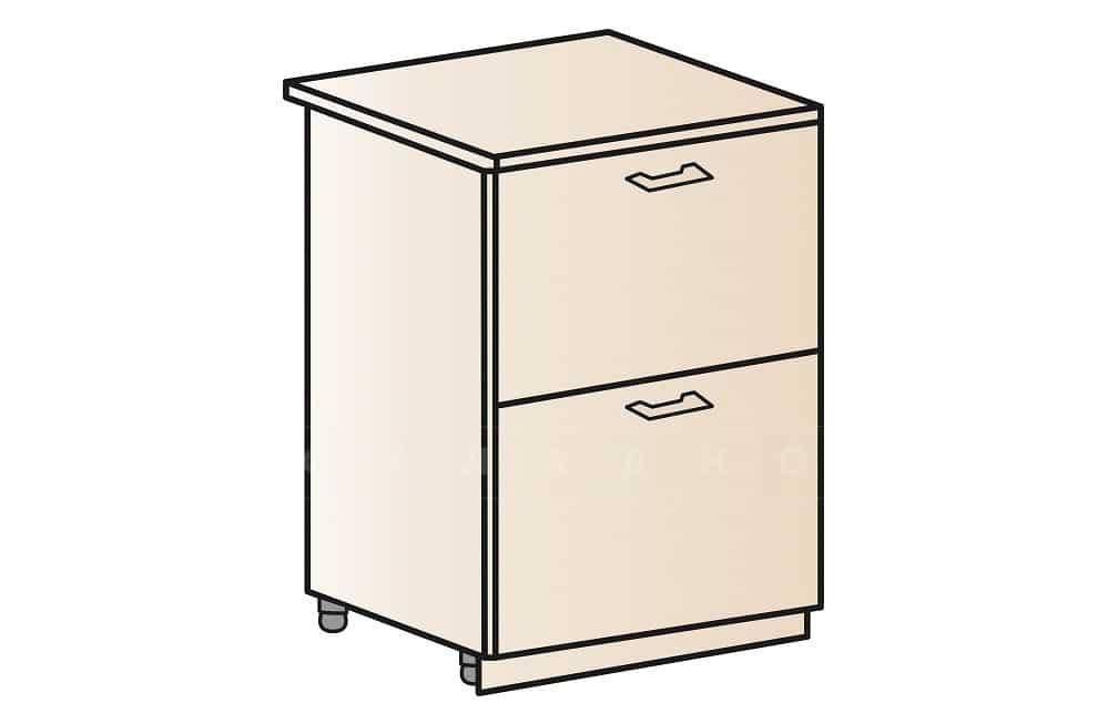 Кухонный шкаф напольный Модена ШН2Я60 с 2 ящиками фото 1 | интернет-магазин Складно
