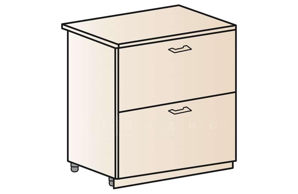 Кухонный шкаф напольный Модена ШН2Я80 с 2 ящиками фото 1 | интернет-магазин Складно