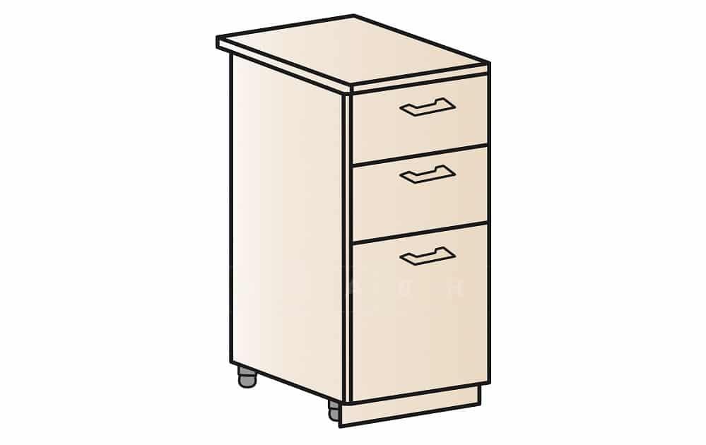 Кухонный шкаф напольный Модена ШН3Я30 с 3 ящиками фото 1 | интернет-магазин Складно