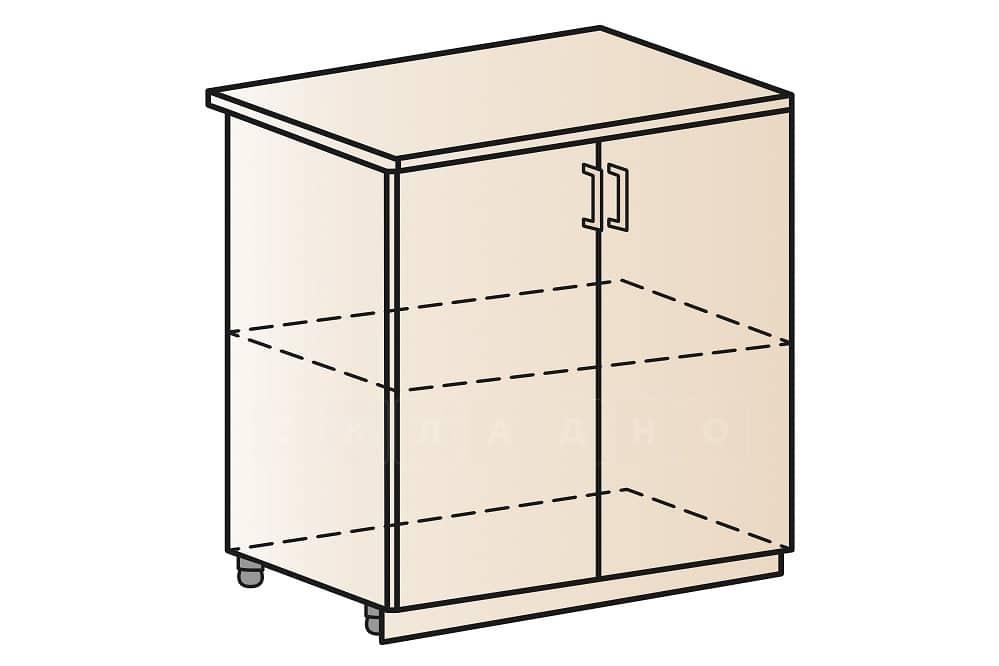 Кухонный шкаф напольный Модена ШН80 фото 1 | интернет-магазин Складно