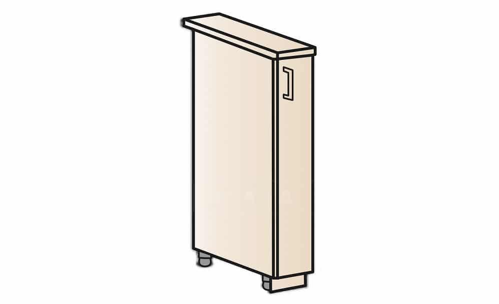 Кухонный шкаф напольный бутылочница Модена ШН15 фото 1 | интернет-магазин Складно