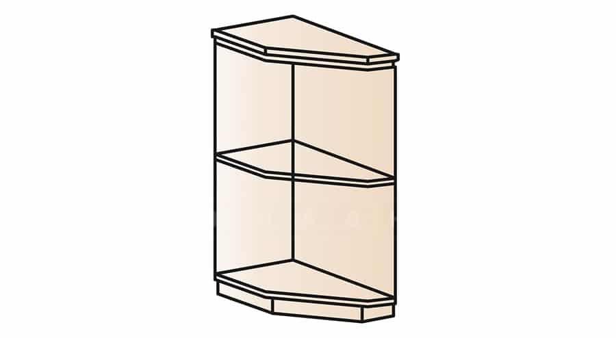 Кухонный шкаф напольный торцевой открытый Модена ШНТ30 левый фото 1 | интернет-магазин Складно