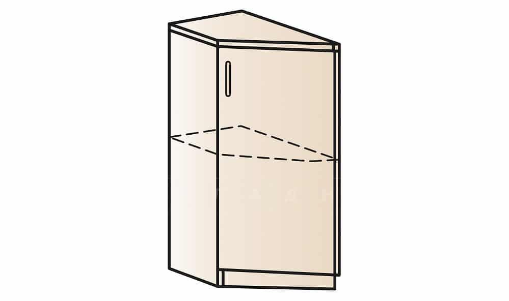 Кухонный шкаф напольный торцевой закрытый Модена ШНТ30 левый фото 1 | интернет-магазин Складно