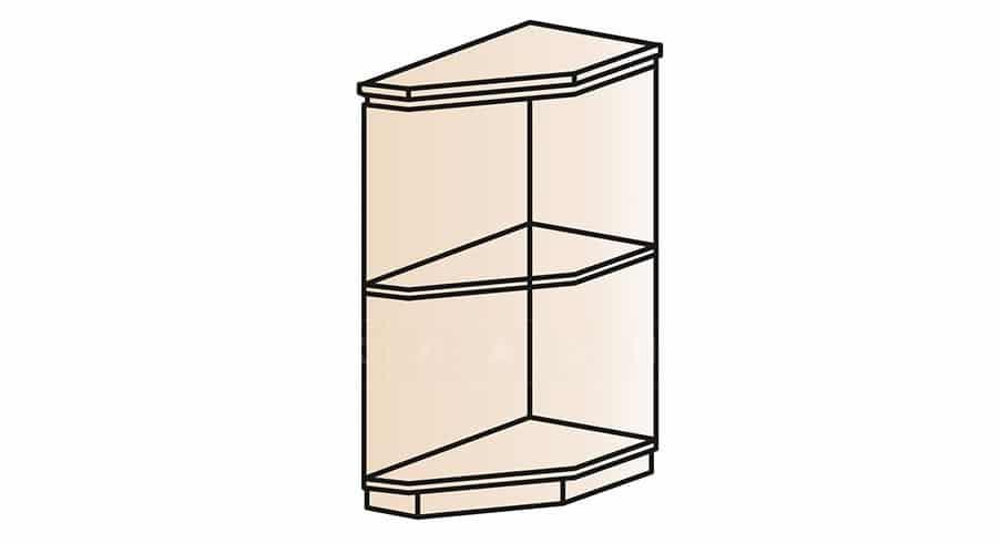 Кухонный шкаф напольный торцевой открытый Модена ШНТ30 правый фото 1 | интернет-магазин Складно