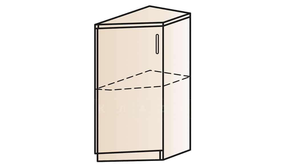 Кухонный шкаф напольный торцевой закрытый Модена ШНТ30 правый фото 1 | интернет-магазин Складно