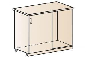 Кухонный шкаф напольный угловой Модена ШНУ100 фото | интернет-магазин Складно