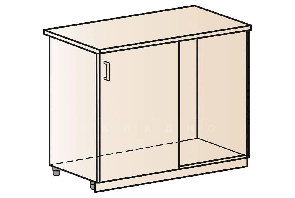 Кухонный шкаф напольный угловой Модена ШНУ100 фото 1 | интернет-магазин Складно