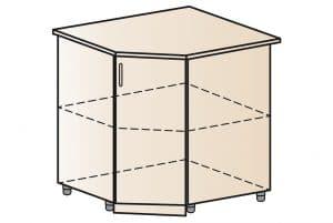 Кухонный шкаф напольный угловой Модена ШНУ80 5150 рублей, фото 1 | интернет-магазин Складно