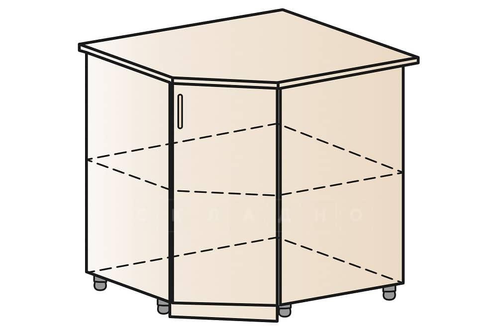 Кухонный шкаф напольный угловой Модена ШНУ80 фото 1 | интернет-магазин Складно