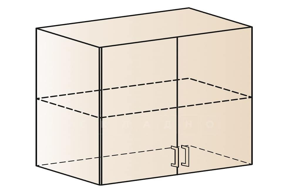 Кухонный навесной шкаф Модена ШВ100 фото 1 | интернет-магазин Складно
