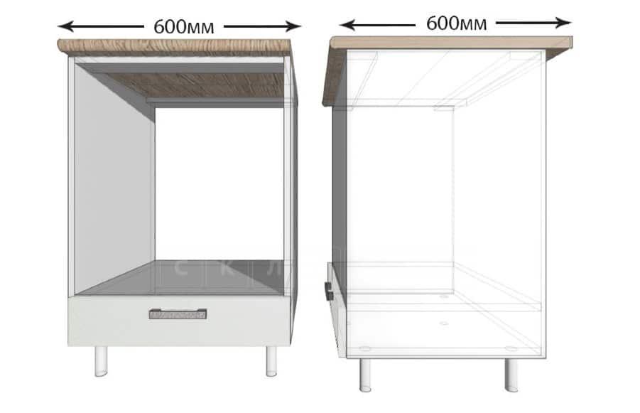 Кухонный шкаф под встраиваемую духовку Гинза ШНД60 фото 1 | интернет-магазин Складно