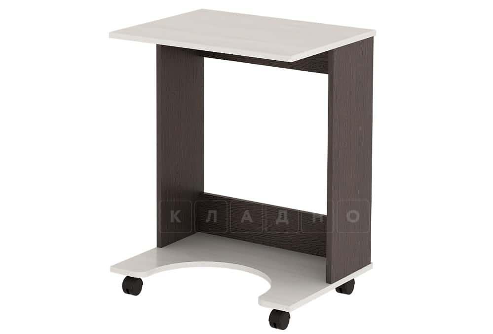 Компьютерный стол 8 узкий на колесиках фото 1 | интернет-магазин Складно