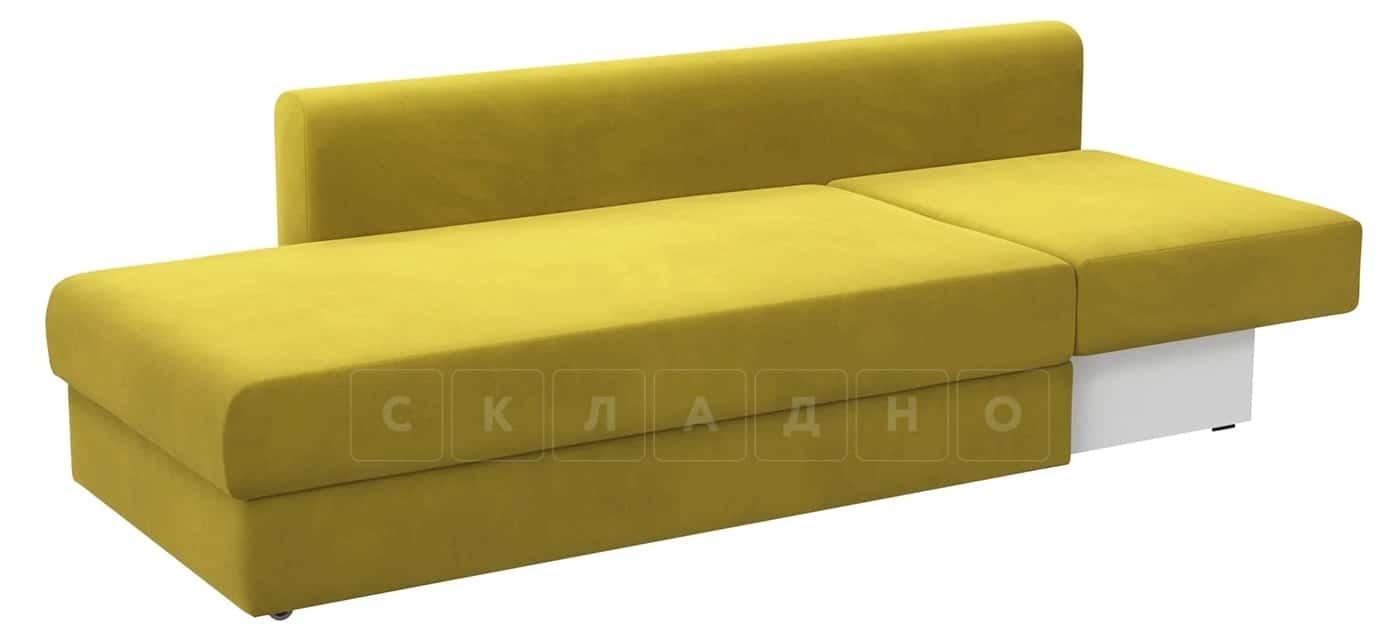 Детский диван Медисон горчичный левый фото 2 | интернет-магазин Складно