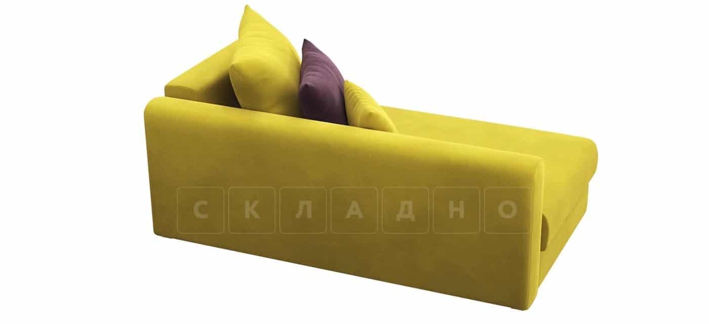 Детский диван Медисон горчичный левый фото 4 | интернет-магазин Складно