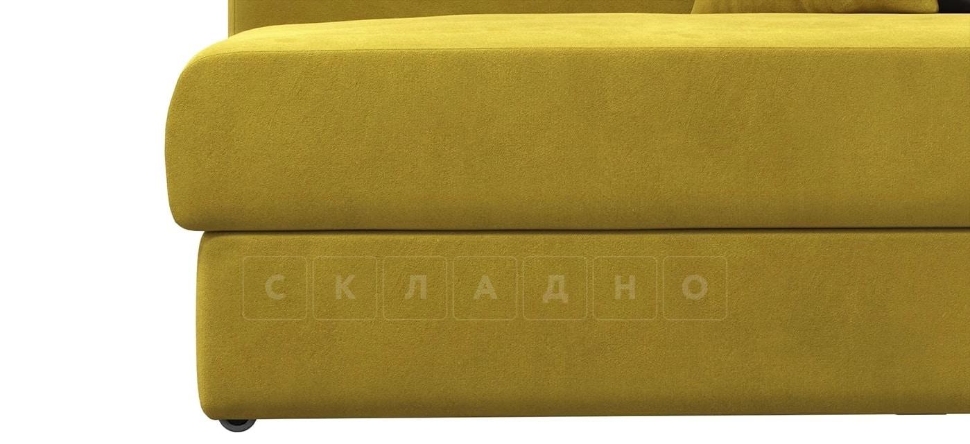Детский диван Медисон горчичный левый фото 5 | интернет-магазин Складно