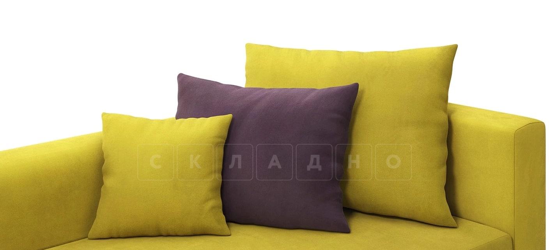 Детский диван Медисон горчичный левый фото 6 | интернет-магазин Складно
