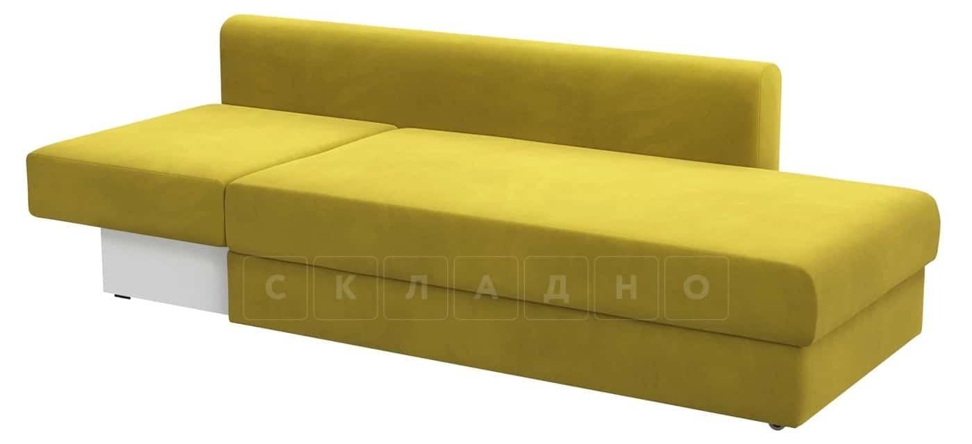 Детский диван Медисон горчичный правый фото 2 | интернет-магазин Складно