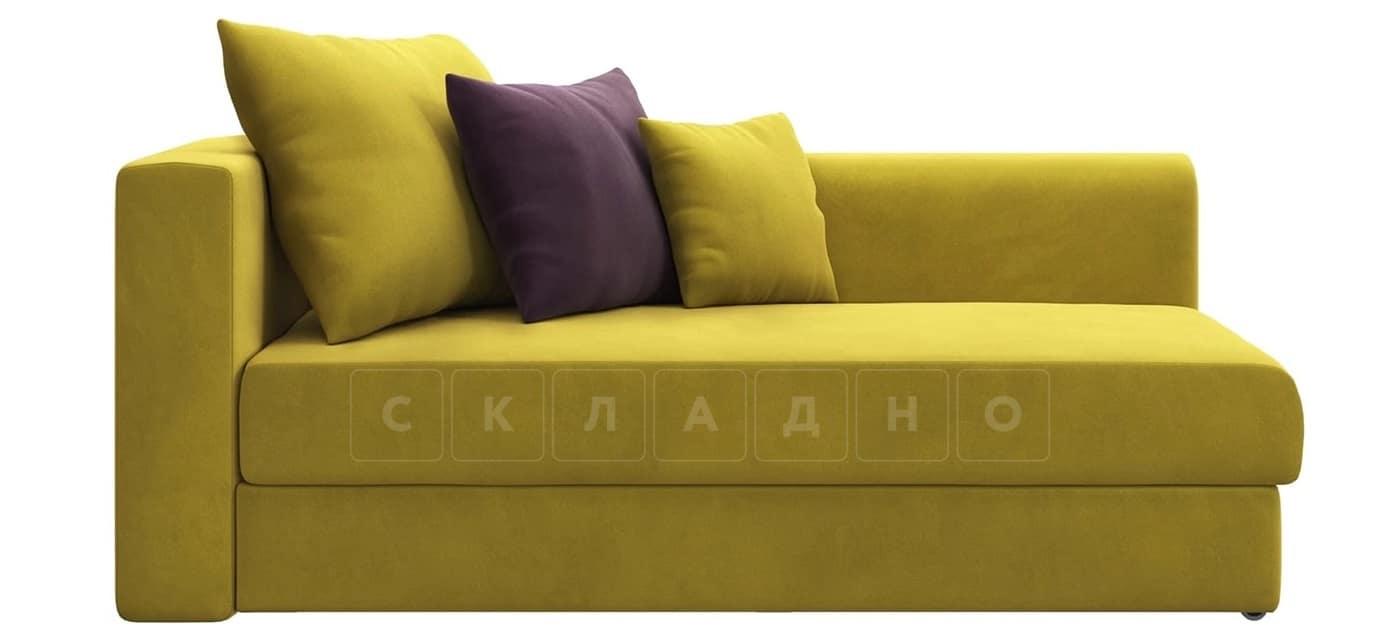 Детский диван Медисон горчичный правый фото 3 | интернет-магазин Складно