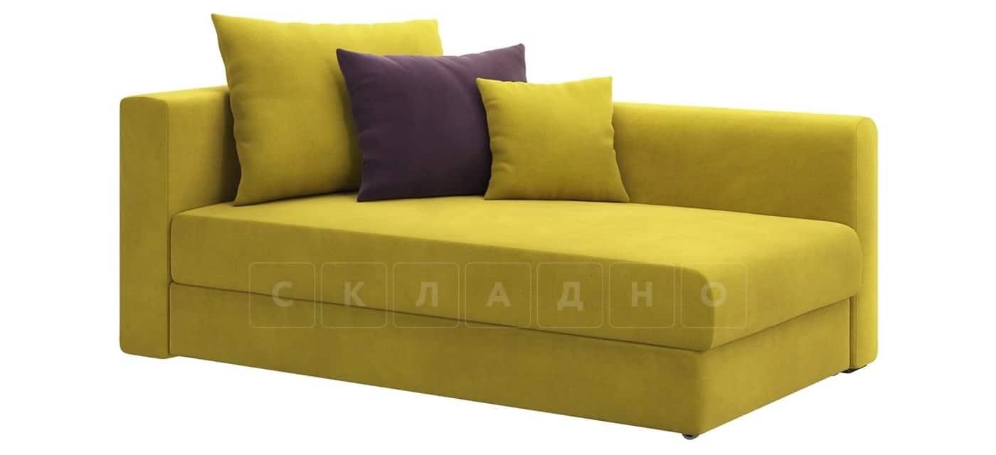 Детский диван Медисон горчичный правый фото 1 | интернет-магазин Складно