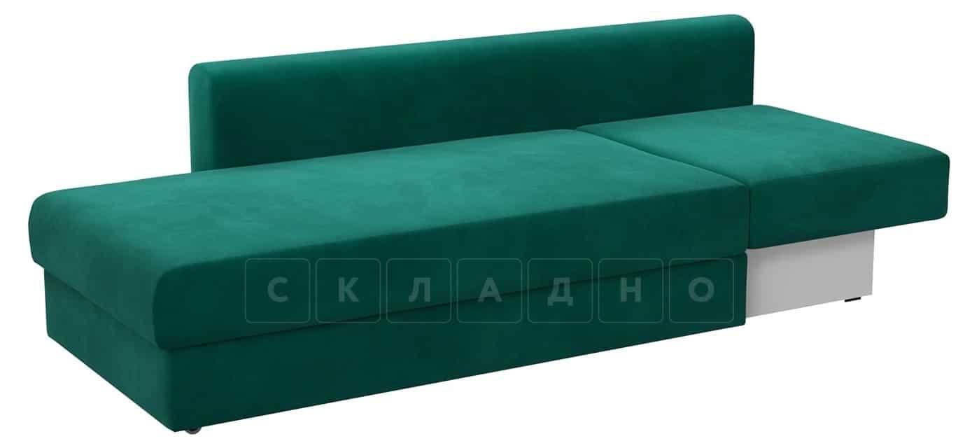 Детский диван Медисон изумрудный левый фото 2 | интернет-магазин Складно