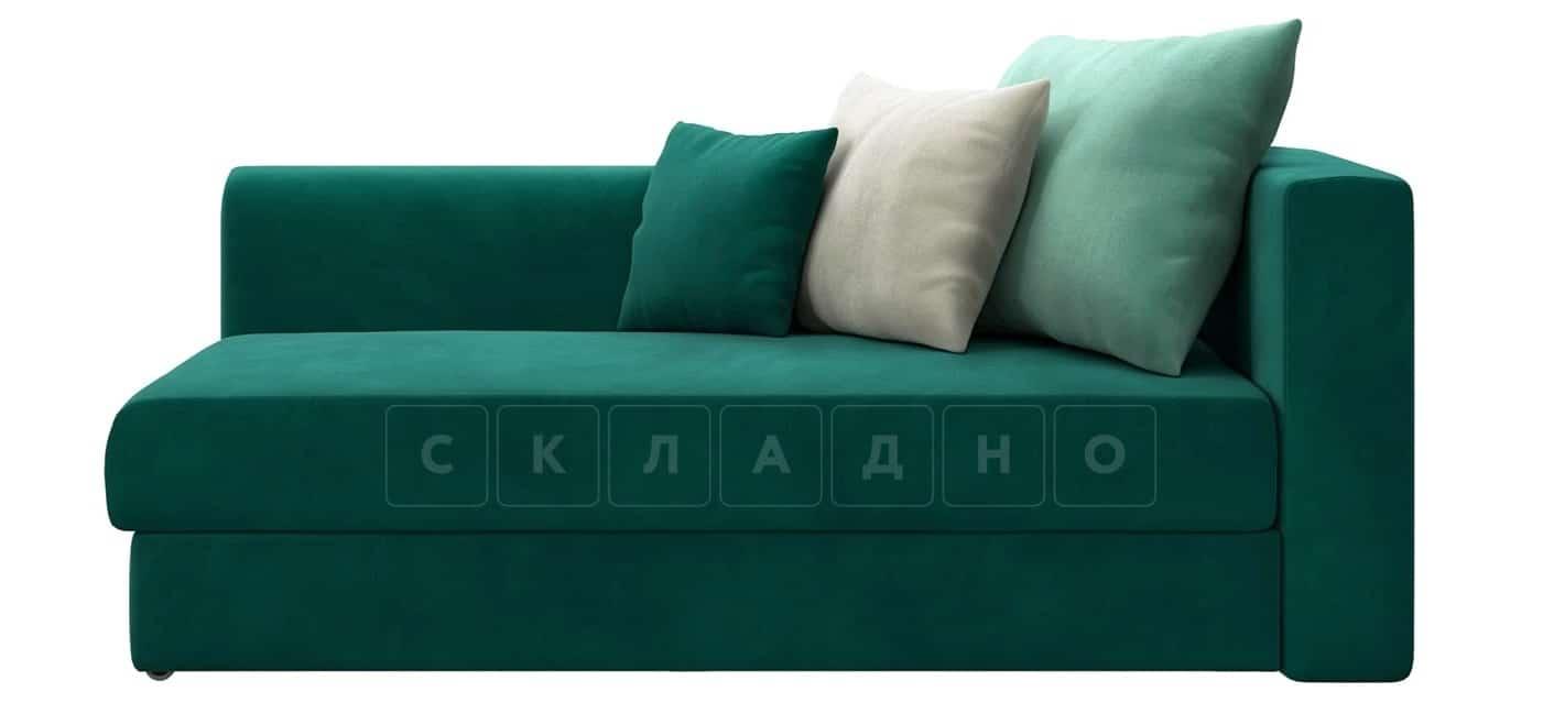 Детский диван Медисон изумрудный левый фото 3 | интернет-магазин Складно